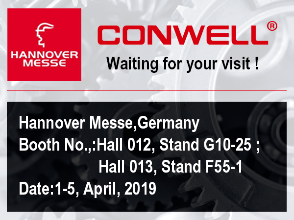 CONWELL Will Attend the HANNOVER MESSE 2019